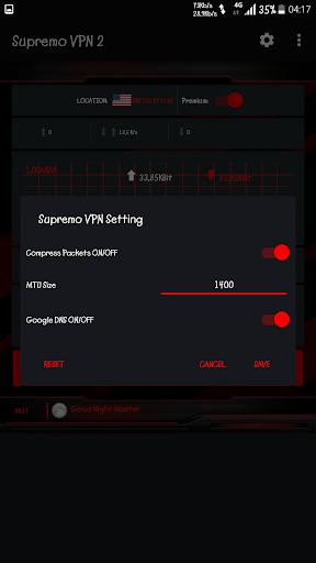 Supremo VPN 6.8 screenshots 3