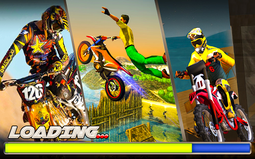 Bike Stunt Racing 3D - Moto Bike Race Game screenshot 1