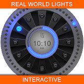 Real LED Luxury Watch Face