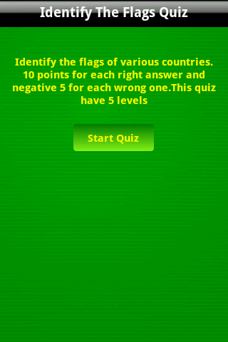 Скриншот Identify the World Flags Game