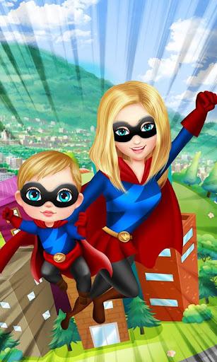 Superhero Mom - Baby's Hero