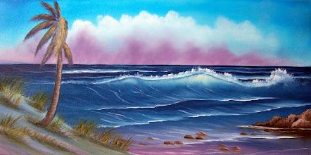 "Photo: 2909 Storm on The Horizon. Unframe. Price: 12"" x 24"" $249.00"