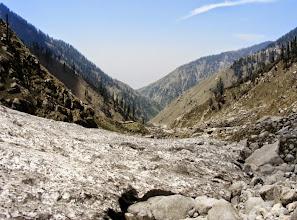 Photo: Crossing glaciers