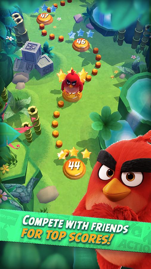 Angry Birds Action!- tangkapan layar