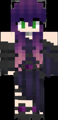 purple hair | Nova Skin