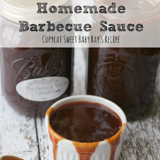 Homemade Barbecue Sauce Recipe | Copycat Sweet Baby Ray's BBQ Sauce!.