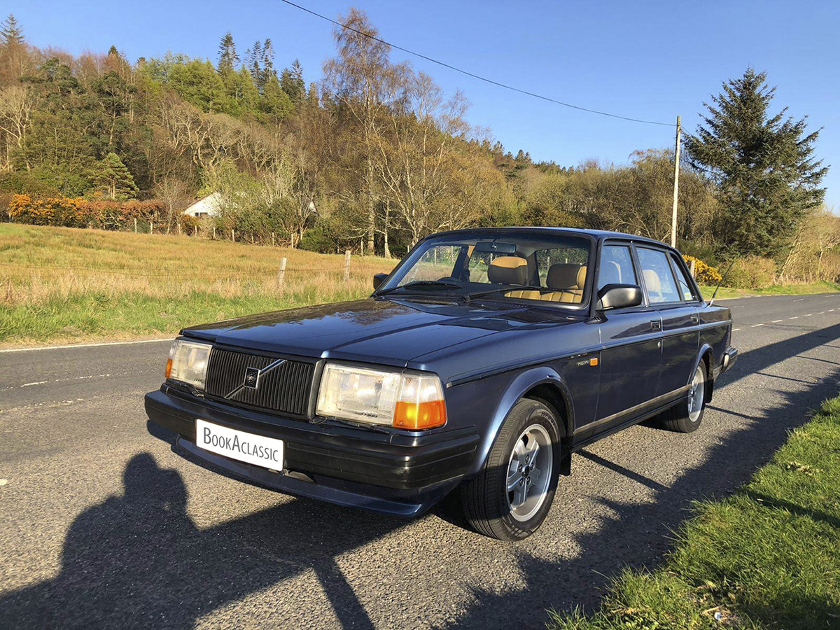 Volvo 240 Glt Hire Glasgow