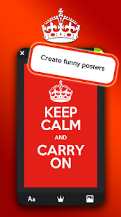 Keep calm generator pro android apps on google play keep calm generator pro screenshot thumbnail pronofoot35fo Gallery