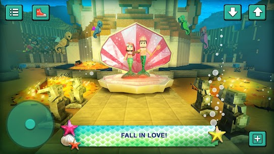Mermaid Craft: Ocean Princess. Sea Adventure Games 3