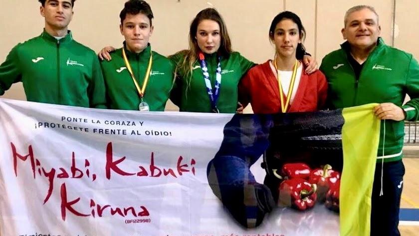 Medallistas Escuela Alianza KSV.