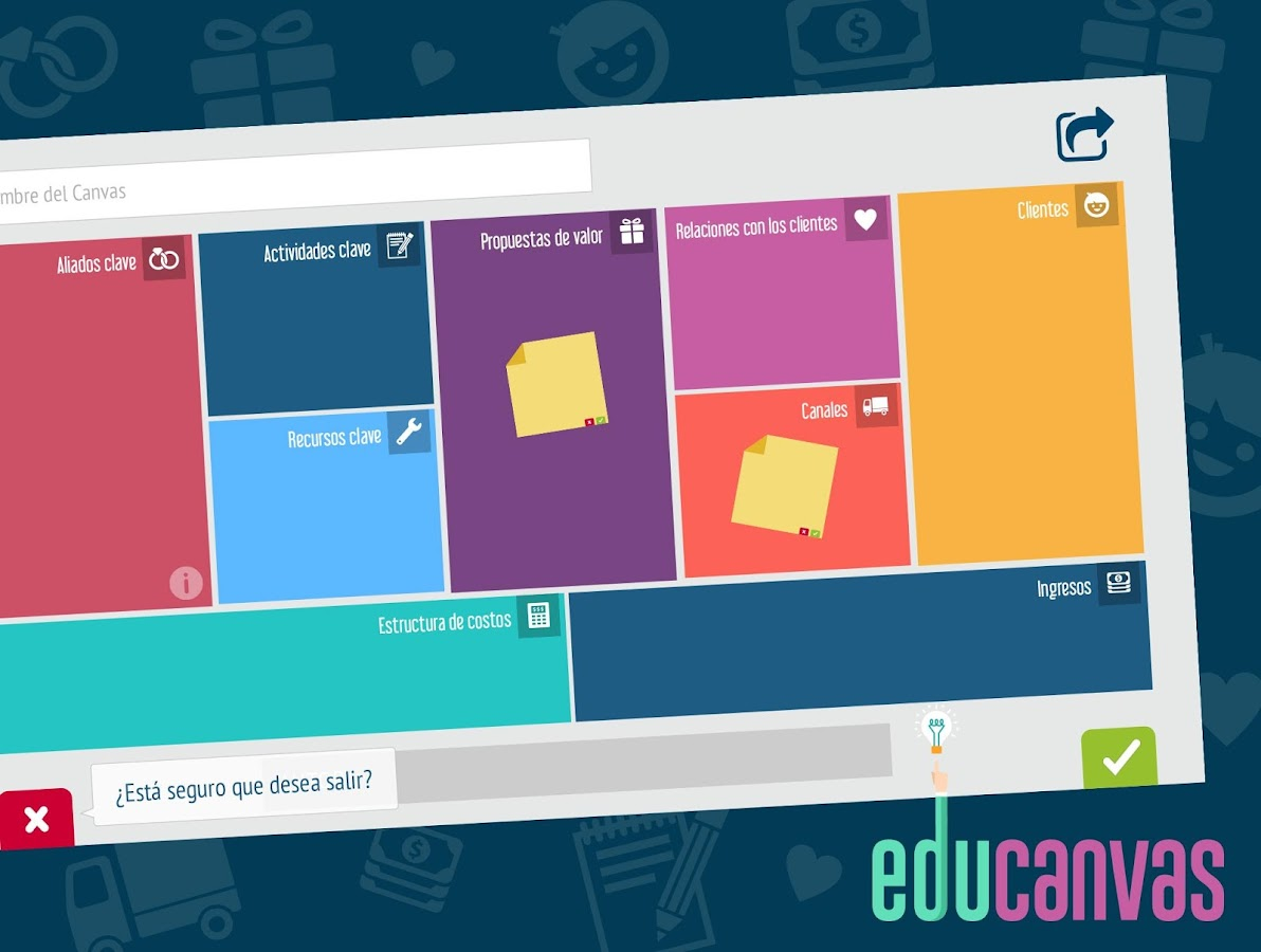 Educanvas- screenshot