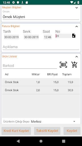 Bilsoft Mobil Ön Muhasebe V2.1 Beta screenshot 7