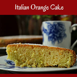 Italian Orange Cake.