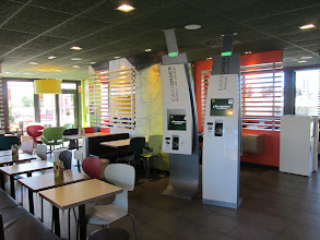 Photo: We stopped at a McDonalds on our way back from a trip.  It had very advanced technology and was unbelievably clean and well-kept.