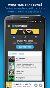 NextRadio Free Live FM Radio Screenshot 5