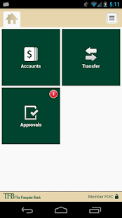 TFB Mobile Business Banking- screenshot thumbnail