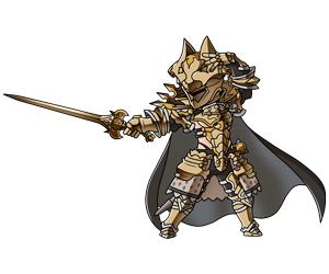 黄金の騎士(リミテッド)_初期状態