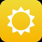 UV radiation now icon