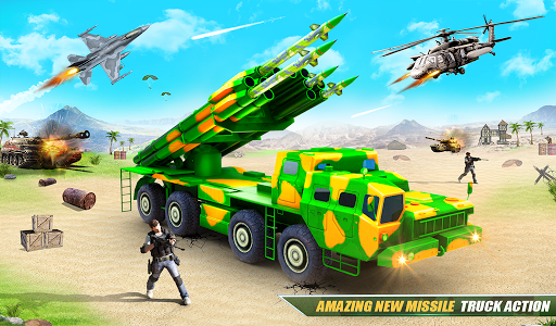US Army Robot Missile Attack: Truck Robot Games modavailable screenshots 17