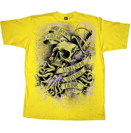 T-Shirt - Stronger Gul