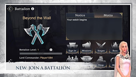 Game of Thrones Beyond the Wall Apk Mod +OBB/Data with [Unlimited Resources] 7