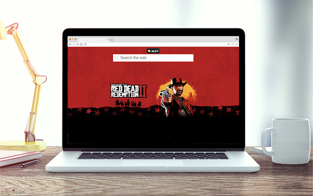 Red Dead Redemption 2 New Tab Theme