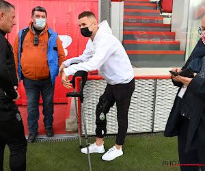 """Zinho Vanheusden zit met revalidatie voor op schema: """"Natuurlijk denk ik nog aan het EK"""""""