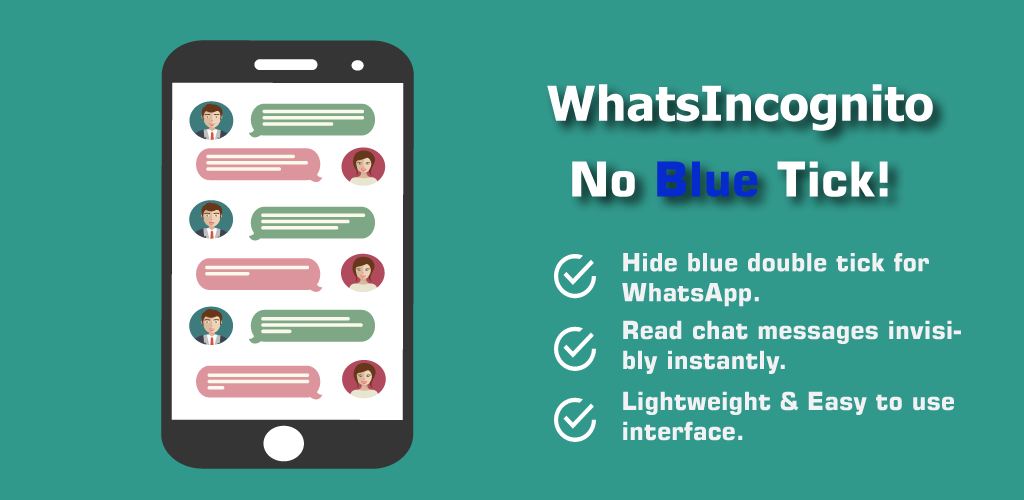 Spy for Whatsapp: No Blue Tick