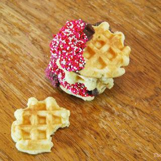 Belgian Waffle Cookies.