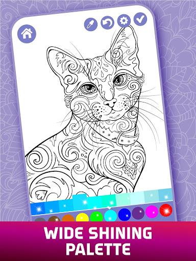 Relaxing Adult Coloring Book screenshots 11