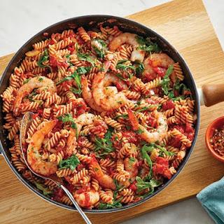 Shrimp Fusilli Pasta Recipes.