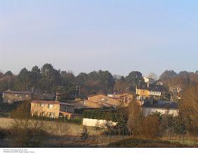 Photo: Vista da parroquia de Rois (2001)