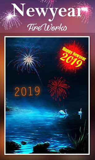 2019 New Year Fireworks Live Wallpaper 1.0.10 screenshots 11