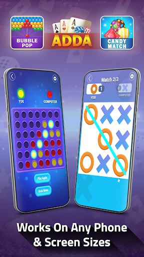 Adda : Rummy , Callbreak ,Solitaire & 29 Card Game modavailable screenshots 10