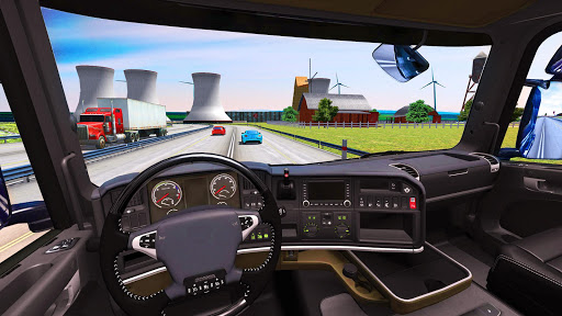 Euro Truck Driving Simulator 2018  screenshots 2