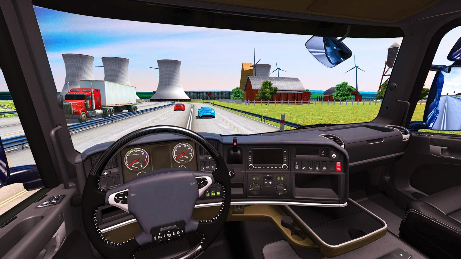 euro truck driving simulator 2018 android apps on google. Black Bedroom Furniture Sets. Home Design Ideas