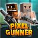 Pixel Z Gunner 3D - Battle Survival Fps image