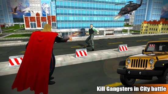 Superhero Hammer Fight Crime City 2018 Screenshot