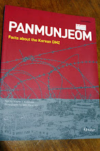 Photo: Facts book about Panmunjeom we bought at the time of South Korea side DMZ tour last year. History of two tragic wars and Cold War in Korean peninsula, getting around of DMZ and JSA including Panmunjeom, North Korea's propaganda village etc. Hope to visit there some day, as well as Wagah border between Pakistan and India. (Reference: http://www.tourdmz.com/english/07guid/tour1_1.php) 15th October updated -http://jp.asksiddhi.in/daily_detail.php?id=332