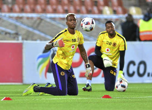 Brilliant Khuzwayo is frustrated by playing second fiddle to Itumeleng Khune at Kaizer Chiefs and his agent is even contemplating looking for another club for Khuzwayo to get game time.