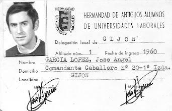 Photo: Carnet Hermandad de AA de Universidades Laborales