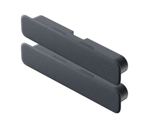 Series One Smart Audio bar and Add-on Audio bar in Charcoal color