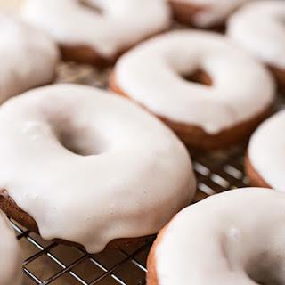 Vanilla Chai Tea Latte Doughnuts