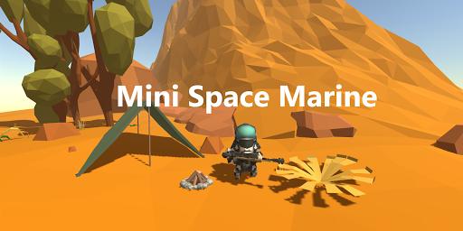 Mini Space Marine(Semi Idle RPG) screenshots 1