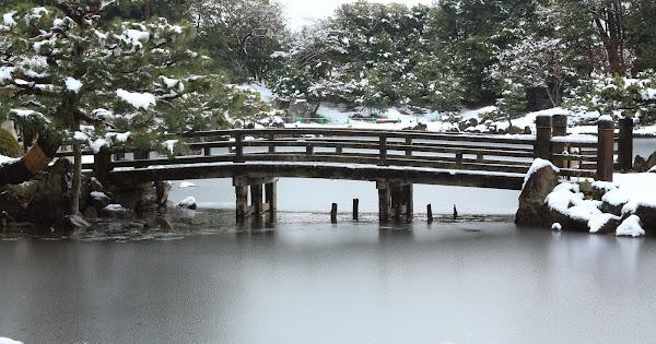 7. Rakuraku-en (Famous Japanese garden in the Shiga Pref.)