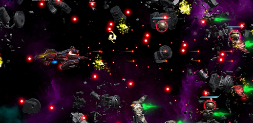 Space Shooter : AsaP Bullet Hell Red APK