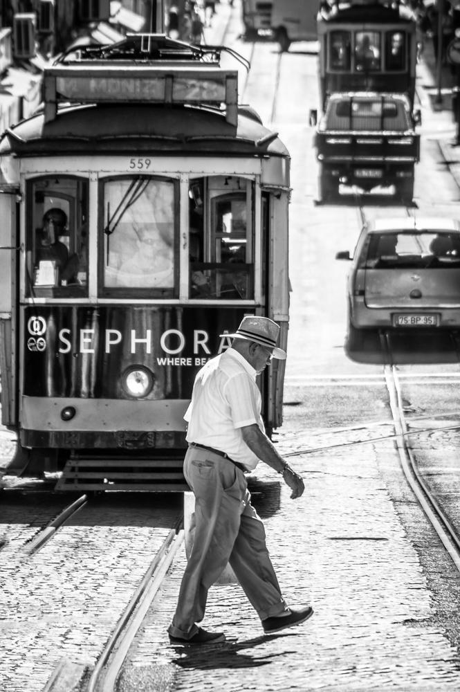 Nel traffico di Lisbona di mariateresatoledo