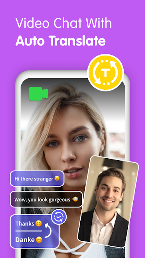 Gaze Video Chat App-Random Live Chat & Meet People screenshot 3