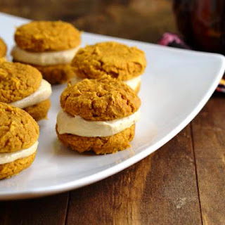 Pumpkin Whoopie Pies (Low Carb and Gluten Free).