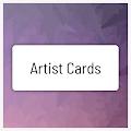 Artist Cards